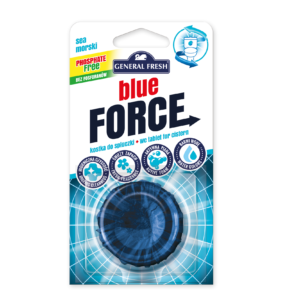 general fresh blue force kostka barwiaca kibel