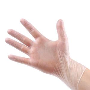 rękawice winylowe